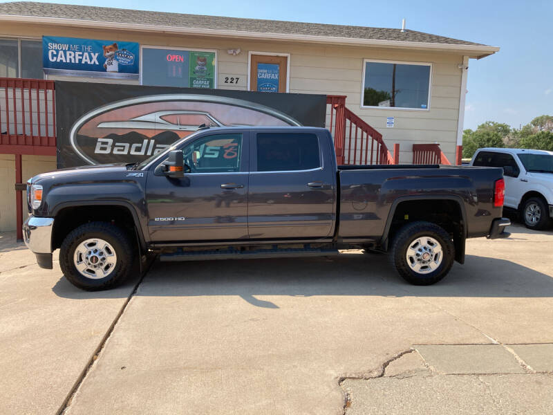 2016 GMC Sierra 2500HD for sale at Badlands Brokers in Rapid City SD