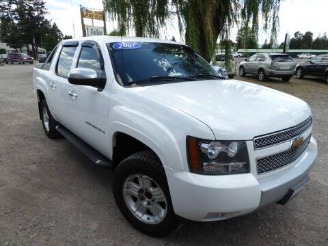 2007 Chevrolet Avalanche for sale at VALLEY MOTORS in Kalispell MT