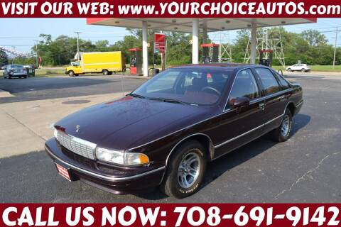 1994 Chevrolet Caprice for sale at Your Choice Autos - Crestwood in Crestwood IL