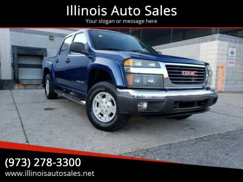 2005 GMC Canyon for sale at Illinois Auto Sales in Paterson NJ