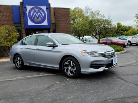 2017 Honda Accord for sale at Mighty Motors in Adrian MI