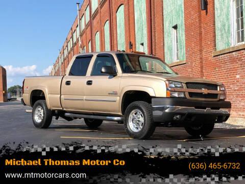 2004 Chevrolet Silverado 2500HD for sale at Michael Thomas Motor Co in Saint Charles MO