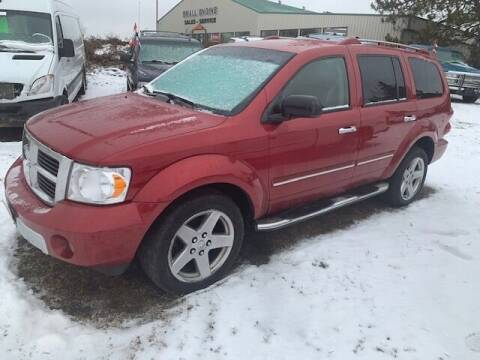 2008 Dodge Durango for sale at Four Boys Motorsports in Wadena MN