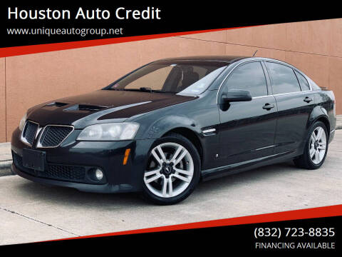 2008 Pontiac G8 for sale at Houston Auto Credit in Houston TX