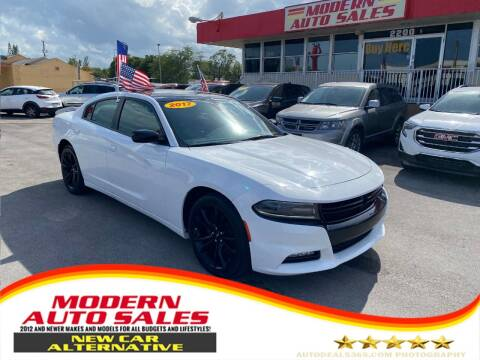2017 Dodge Charger for sale at Modern Auto Sales in Hollywood FL