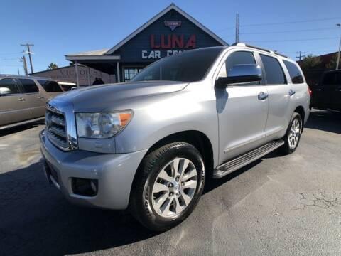 2011 Toyota Sequoia for sale at LUNA CAR CENTER in San Antonio TX