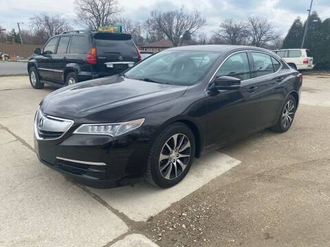 2015 Acura TLX for sale at Downers Grove Motor Sales in Downers Grove IL