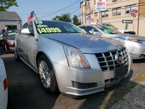 2013 Cadillac CTS for sale at M & R Auto Sales INC. in North Plainfield NJ
