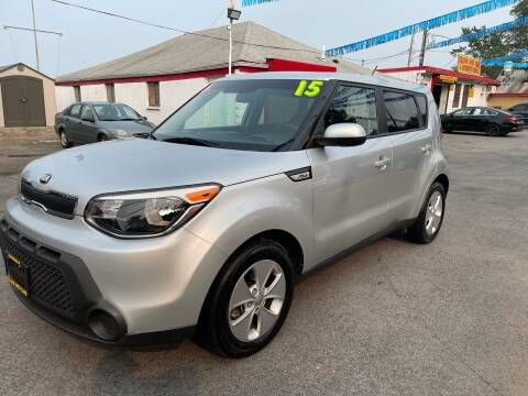 2015 Kia Soul for sale at PELHAM USED CARS & AUTOMOTIVE CENTER in Bronx NY