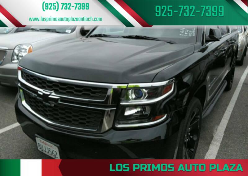 2016 Chevrolet Suburban for sale at Los Primos Auto Plaza in Antioch CA