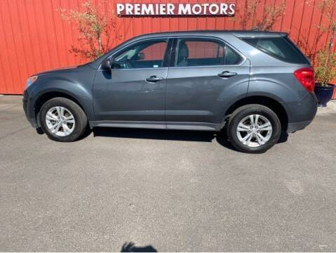 2011 Chevrolet Equinox for sale at PREMIERMOTORS  INC. in Milton Freewater OR