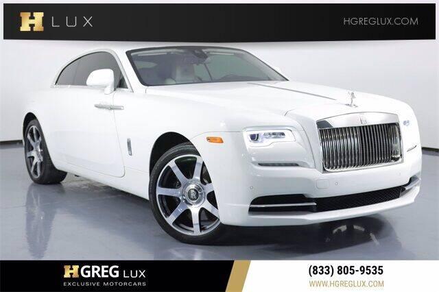 2017 Rolls-Royce Wraith for sale in Pompano Beach, FL