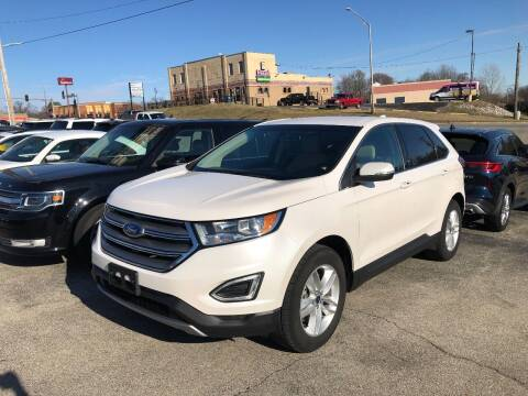 2016 Ford Edge for sale at Greg's Auto Sales in Poplar Bluff MO