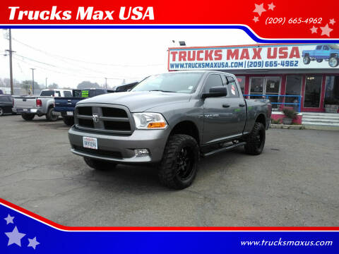 2012 RAM Ram Pickup 1500 for sale at Trucks Max USA in Manteca CA