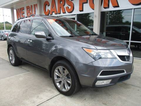 2012 Acura MDX for sale at Power On Auto LLC in Monroe NC