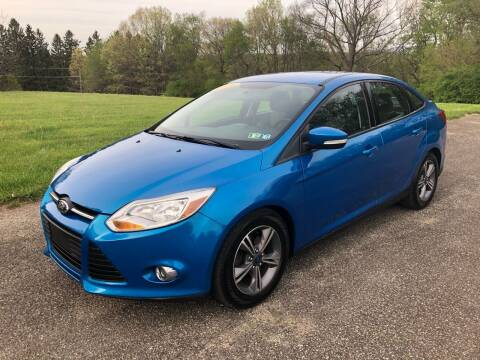 2014 Ford Focus for sale at Hutchys Auto Sales & Service in Loyalhanna PA