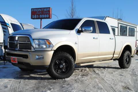 2012 RAM Ram Pickup 2500 for sale at Frontier Auto & RV Sales in Anchorage AK