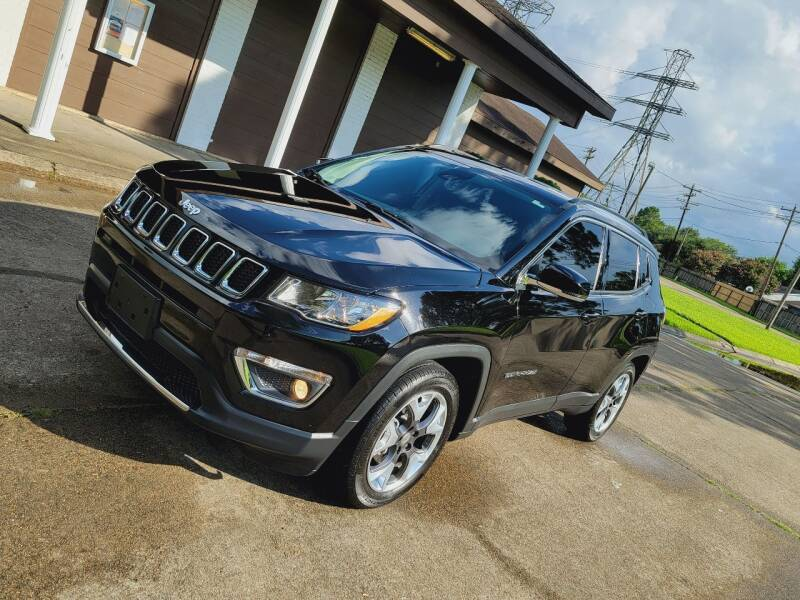 2019 Jeep Compass for sale at MOTORSPORTS IMPORTS in Houston TX
