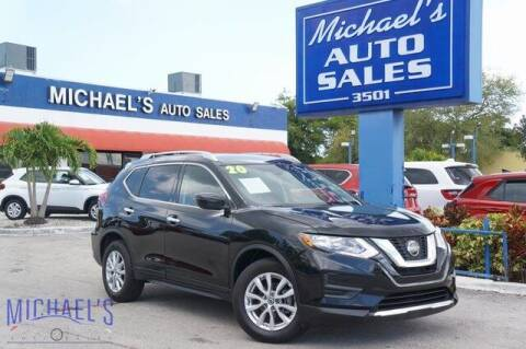 2020 Nissan Rogue for sale at Michael's Auto Sales Corp in Hollywood FL