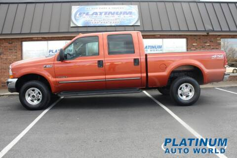 2000 Ford F-350 Super Duty for sale at Platinum Auto World in Fredericksburg VA