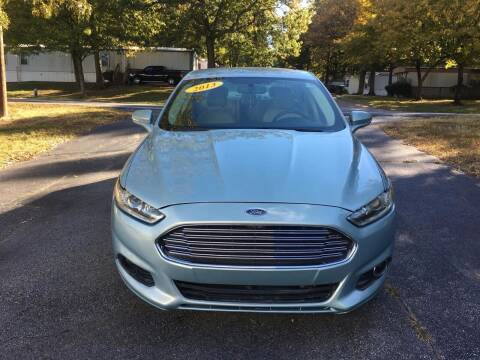 2013 Ford Fusion for sale at Speed Auto Mall in Greensboro NC