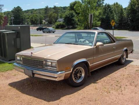 1987 GMC Caballero for sale at Classic Car Deals in Cadillac MI