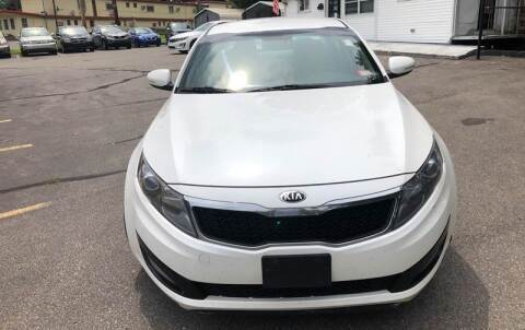 2013 Kia Optima for sale at USA Auto Sales in Leominster MA
