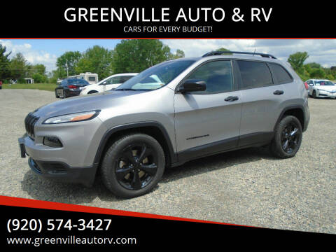 2016 Jeep Cherokee for sale at GREENVILLE AUTO & RV in Greenville WI