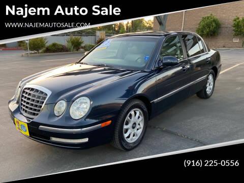 2005 Kia Amanti for sale at Najem Auto Sale in Sacramento CA