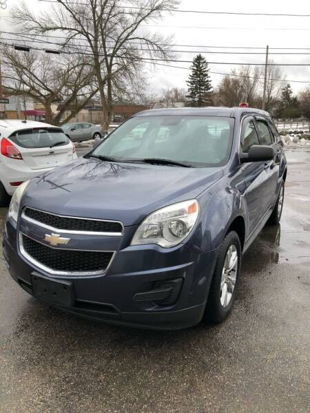2013 Chevrolet Equinox for sale at Jimmys Auto Sales in North Providence RI