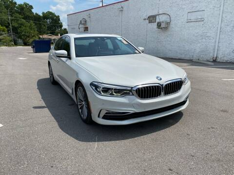 2017 BMW 5 Series for sale at Consumer Auto Credit in Tampa FL