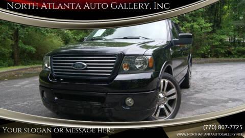 2007 Ford F-150 for sale at North Atlanta Auto Gallery, Inc in Alpharetta GA