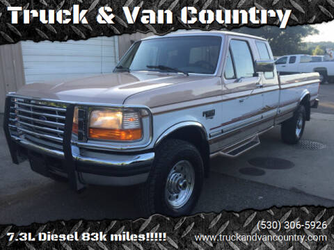 1996 Ford F-250 for sale at Truck & Van Country in Shingle Springs CA