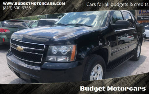 2007 Chevrolet Avalanche for sale at Budget Motorcars in Tampa FL