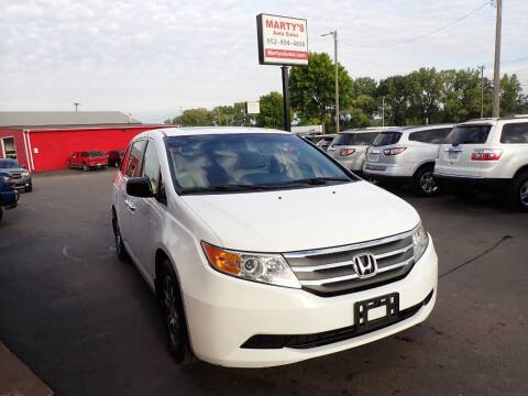 2011 Honda Odyssey for sale at Marty's Auto Sales in Savage MN