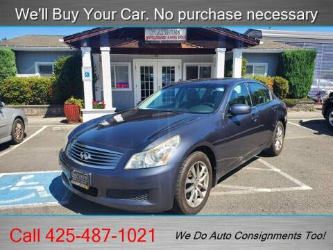 2007 Infiniti G35 for sale at Platinum Autos in Woodinville WA