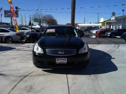 2008 Infiniti G35 for sale at Empire Auto Sales in Modesto CA