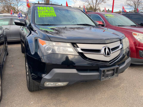 2009 Acura MDX for sale at GRAND USED CARS  INC in Little Ferry NJ