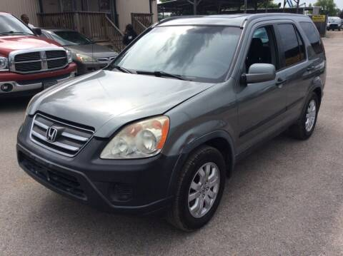 2006 Honda CR-V for sale at OASIS PARK & SELL in Spring TX