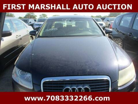 2005 Audi A6 for sale at First Marshall Auto Auction in Harvey IL