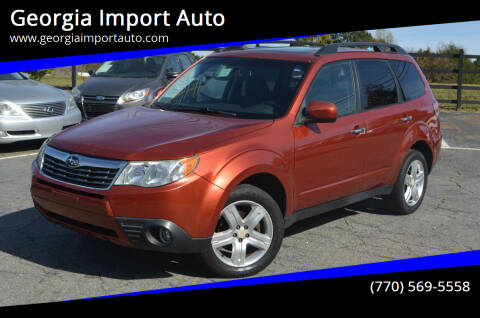 2010 Subaru Forester for sale at Georgia Import Auto in Alpharetta GA