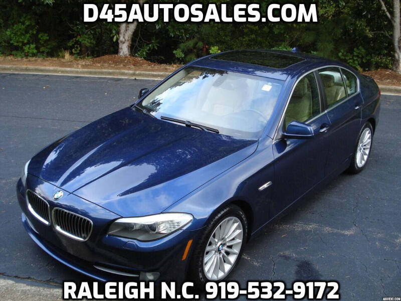 2011 BMW 5 Series for sale at D45 Auto Brokers in Raleigh NC
