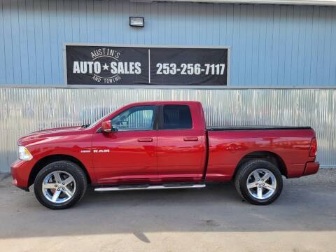 2009 Dodge Ram Pickup 1500 for sale at Austin's Auto Sales in Edgewood WA