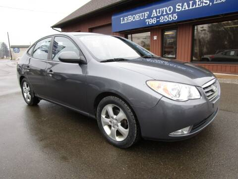 2008 Hyundai Elantra for sale at LeBoeuf Auto Sales in Waterford PA