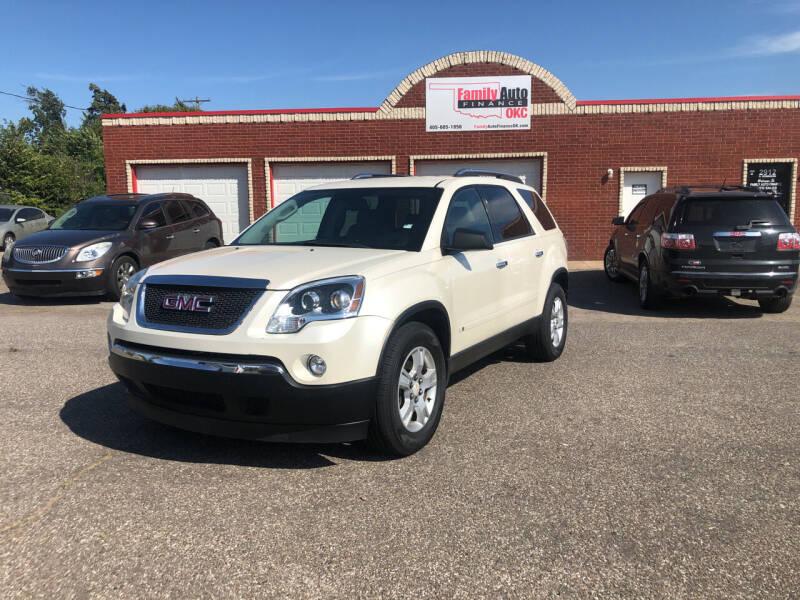 2009 GMC Acadia for sale at Family Auto Finance OKC LLC in Oklahoma City OK