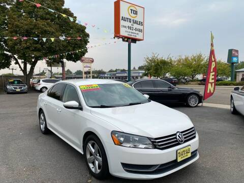 2012 Volkswagen Passat for sale at TDI AUTO SALES in Boise ID