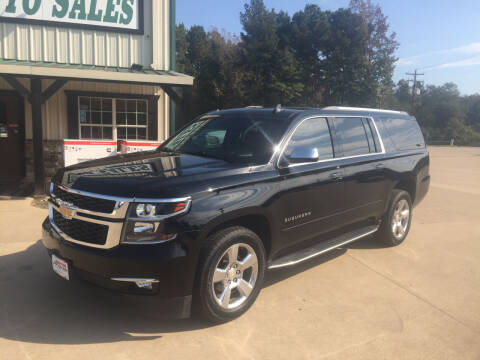 2017 Chevrolet Suburban for sale at Custom Auto Sales - AUTOS in Longview TX