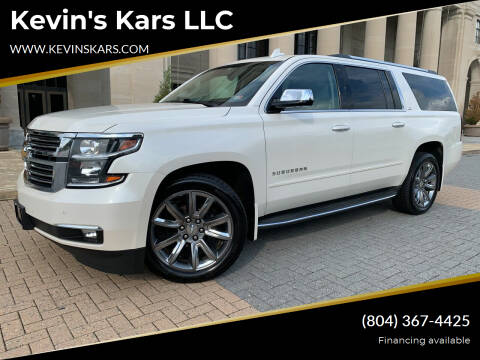 2015 Chevrolet Suburban for sale at Kevin's Kars LLC in Richmond VA