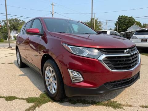 2021 Chevrolet Equinox for sale at Auto Gallery LLC in Burlington WI