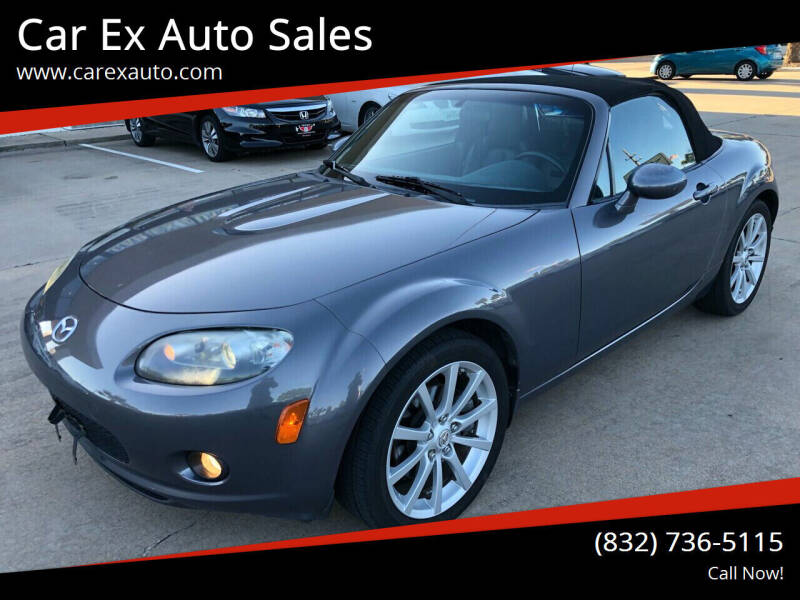 2008 Mazda MX-5 Miata for sale at Car Ex Auto Sales in Houston TX